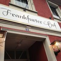 Das Foto wurde bei Frankfurter Hof von Nick D. am 8/31/2013 aufgenommen