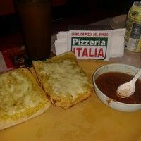Photo taken at Pizzería Italia by Olga-ga G. on 6/28/2013