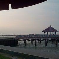 Photo taken at Dampo Awang Beach by Thomas W. on 6/16/2013