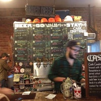 Photo taken at Bierkraft by Jennifer W. on 12/8/2012