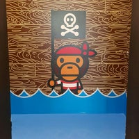 Photo taken at A BATHING APE PIRATE STORE 長島 by Lorraine Y. on 7/24/2015
