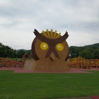 Photo taken at カムイの杜公園 by Lorraine Y. on 8/28/2017