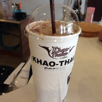 Photo taken at Khao-Thalu Coffee By Praew by Phanwilai D. on 12/25/2013