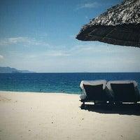 Снимок сделан в Dream Beach Cafe Invest Park пользователем Юлия К. 5/7/2013
