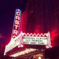 Foto tirada no(a) Castro Theatre por Desigan C. em 3/22/2013