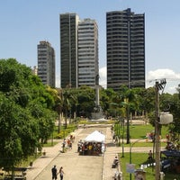 Photo taken at Praça da República by Rafael R. on 8/6/2013