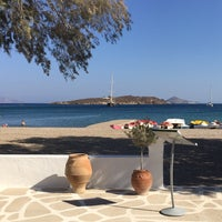 Photo taken at Agriolivadi beach by Yared on 9/16/2016