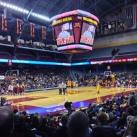 Photo taken at Williams Arena by Greg D. on 10/19/2013