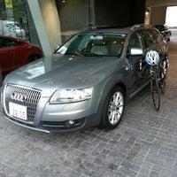 Photo taken at Audi Japan by Hiroshi K. on 4/25/2013
