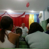 Photo taken at Igreja do Evangelho Quadrangular - TEMPLO DA VITÓRIA by Henrique C. on 12/26/2012