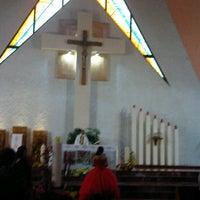 Photo taken at Parroquia de Nuestra Señora Aparecida del Brasil by Carlos E. on 10/14/2012