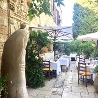 Photo taken at La Colombe d'Or by isil s. on 7/16/2017