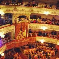 Снимок сделан в Михайловский театр пользователем Roman S. 7/22/2013