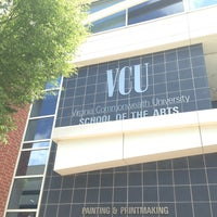 Photo taken at Virginia Commonwealth University (VCU) by J on 5/12/2013