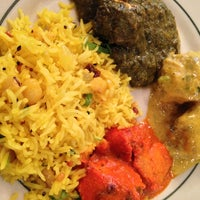 Photo taken at Minerva Indian Cuisine by J on 9/15/2013