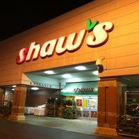 Photo taken at Shaws Supermarket by Maria S. on 12/5/2012