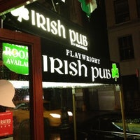 Photo taken at Playwright Irish Pub by David on 6/8/2013