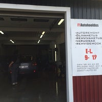 Photo taken at F1autohooldus by Reigo R. on 3/10/2014