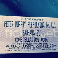 Photo taken at The Observatory OC by Vera M. on 12/17/2012