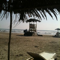 Photo taken at Playa Bonfil by Male on 12/26/2012