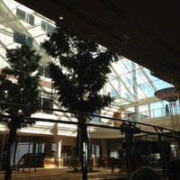 Photo taken at Hilton Paris Charles de Gaulle Airport by Kenneth K. on 10/1/2012