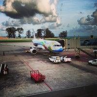 Photo taken at Phuket International Airport (HKT) by Alexander S. on 5/14/2013