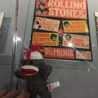 Photo taken at Exhibitionism: The Rolling Stones At navy pier by SAuuuD on 7/26/2017