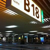 Photo taken at Gate B18 by Alberto G. on 11/5/2012