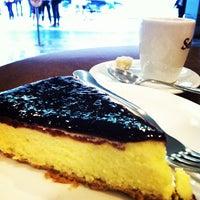 Photo taken at Viena Café by Fabio Y. on 10/22/2013