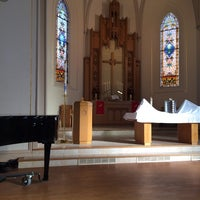 Photo taken at St. John the Evangelist by Thomas H. on 11/3/2013