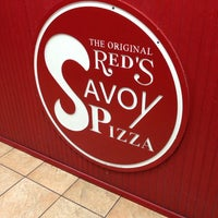 Photo taken at Red's Savoy Pizza by David S. on 5/23/2014