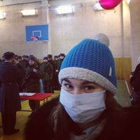 Photo taken at Воинская часть Барыбино by Alice K. on 1/25/2014