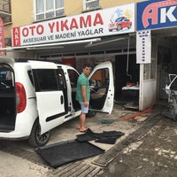 Photo taken at A.K.F OTO KUAFÖR & YIKAMA by Hakan G. on 7/20/2016