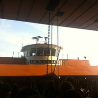 Photo taken at Staten Island Ferry Boat - Andrew J. Barberi by Mandy M. on 8/24/2012