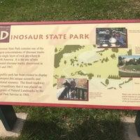 Photo taken at Dinosaur State Park by Batman on 4/15/2017