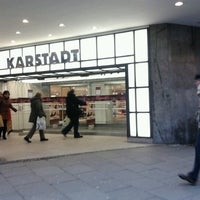 Photo taken at Karstadt by Pietra T. on 12/20/2012