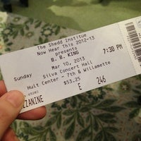 Photo taken at The Hult Center for the Performing Arts by Alicia L. on 3/11/2013