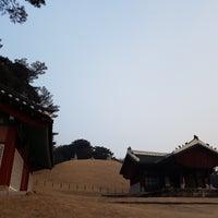 Photo taken at 동구릉 by John P. on 2/18/2017