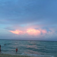 Photo taken at 75th Street Beach by RcL on 7/11/2016
