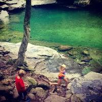 Photo taken at Peekamoose Mountain Blue Hole by Alex B. on 7/27/2013