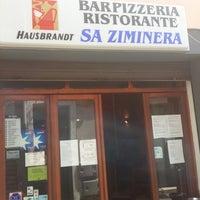 Photo taken at Ristorante Pizzeria Sa Ziminera by Giuliano T. on 7/18/2013