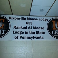 Photo taken at Loyal Order of Moose Lodge #833 by BreeAnne B. on 11/20/2013