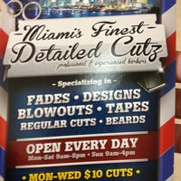 Photo taken at Miami Finest Detailed Cuts by Mody S. on 5/22/2013