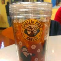 Photo taken at Einstein Bros Bagels by Josh H. on 2/11/2013