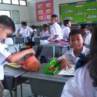Photo taken at โรงเรียนคลองเกลือ by Kesinee B. on 9/26/2012