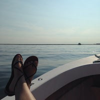 Photo taken at Flyer's Boat Rentals by Andrea F. on 8/10/2014