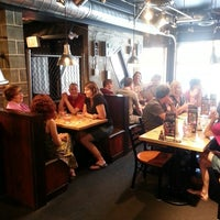 Photo taken at The Works Gourmet Burger Bistro by Shannon G. on 6/27/2013