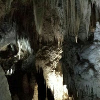 Photo taken at Aranui Caves by Naho A. on 4/8/2016