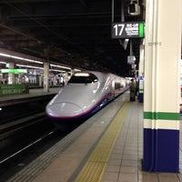 Photo taken at Tohoku Shinkansen Omiya Sta. by Makoto N. on 2/24/2013