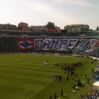 Photo taken at Estadio Azul by David R. on 4/14/2013